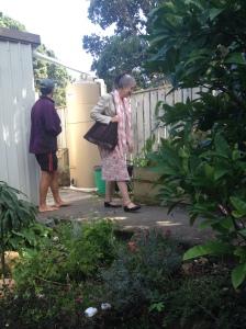 Vicky & Rob's compact raintanks
