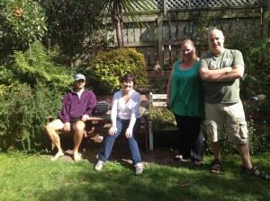 Gwyn, Robyn, Vicky & Rob, Ames St.