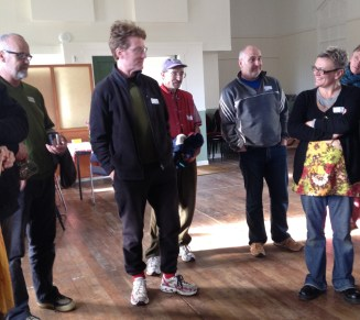 Mike, Paul, Geoff (Wellington Rd 2012), Rob (Ames St 2014), Tina.
