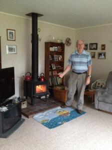 John w kettles & wood burner