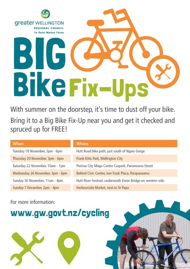 Big Bike Fix-Up Poster